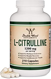 Sponsored Ad - L Citrulline Capsules 1,200mg Per Serving, 210 Count (L-Citrulline Increases Levels of L-Arginine and Nitri...