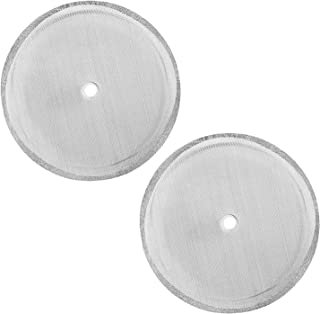 2 Packs French Press Replacement Filters Mesh Screen Perfect for 34 OZ,8 Cup French Press