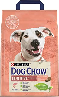 Purina Dog Chow Sensitive with Salmon Dry Dog Food bag 2.5kg