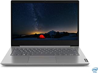 Lenovo ThinkBook 14 Intel Core i3 10th Gen 14-inch Full HD Thin and Light Laptop (4GB RAM/ 1TB HDD/ Windows 10 Home/ Mineral Gray/ 1.49 kg), 20RV00BRIH