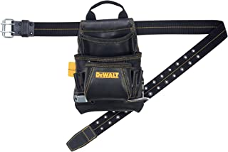DEWALT DG5433 Tool Bag, 10 Pocket, Top Grain Leather