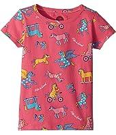 Happy Horse Print Crusher Tee (Little Kids/Big Kids)