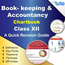 LetsTute BookKeeping & Accountancy Chart Book Class 12 Topicwise Chapterwise - Accounts Summary Formula Revision Textbook - Ideal Gift For Students - In English