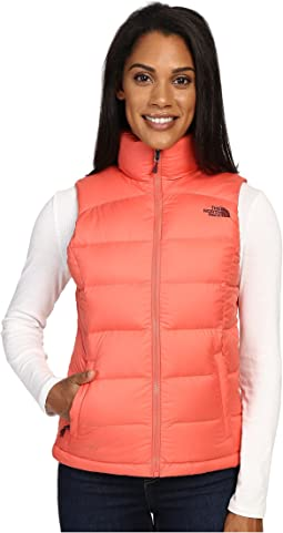 노스페이스 눕시2 패딩 조끼 The North Face Nuptse 2 Vest,Spiced Coral (Prior Season)