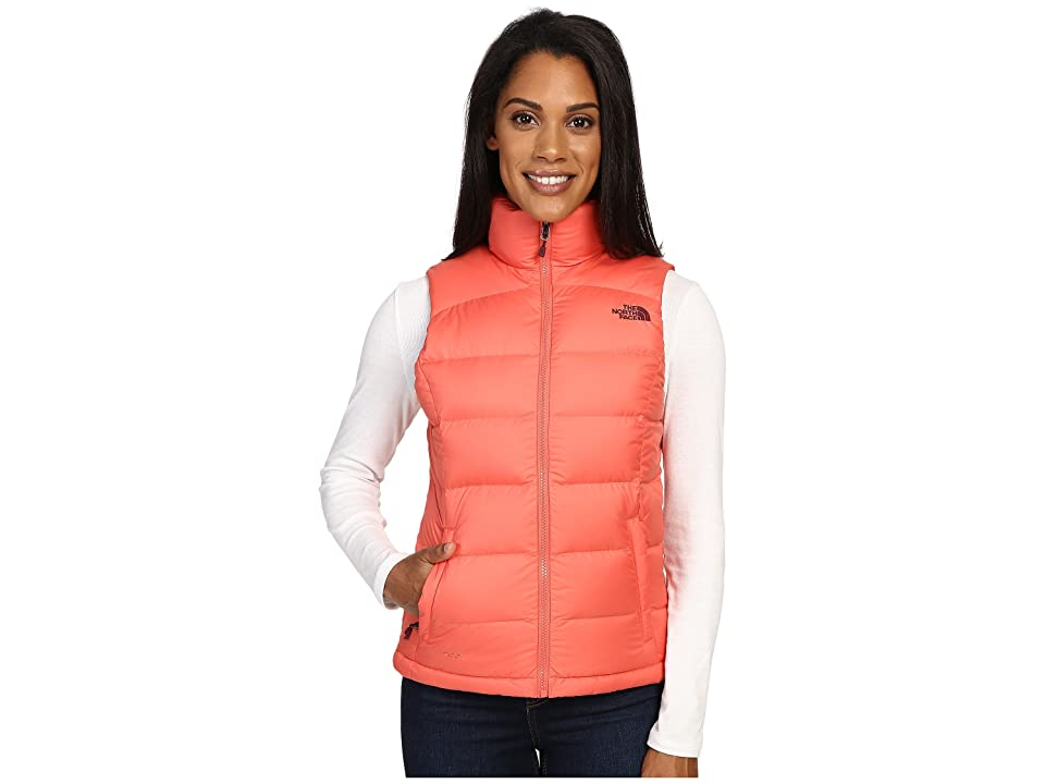 The North Face Nuptse 2 Vest (Spiced Coral (Prior Season)) Women