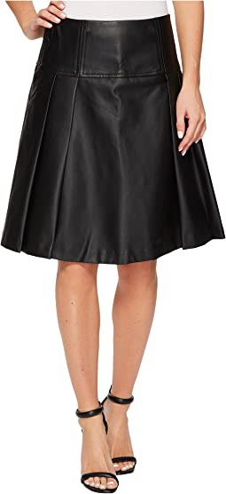 MICHAEL Michael Kors - Fit and Flare Pleat Skirt