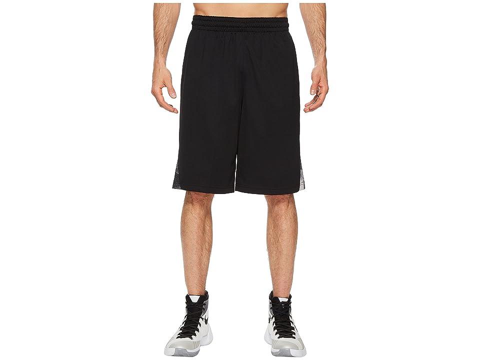 Nike Dry Buckets Basketball Short (Black/Black/Gunsmoke) Men