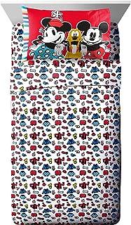 Jay Franco Disney Sensational 6 Buddies Twin Sheet Set - 3 Piece Set Super Soft and Cozy Kid's Bedding - Fade Resistant Mi...