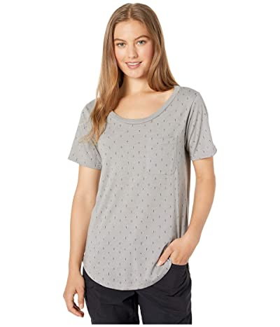 tentree Pocket Short Sleeve Tee (High-Rise Grey/Small Tree Aop) Women