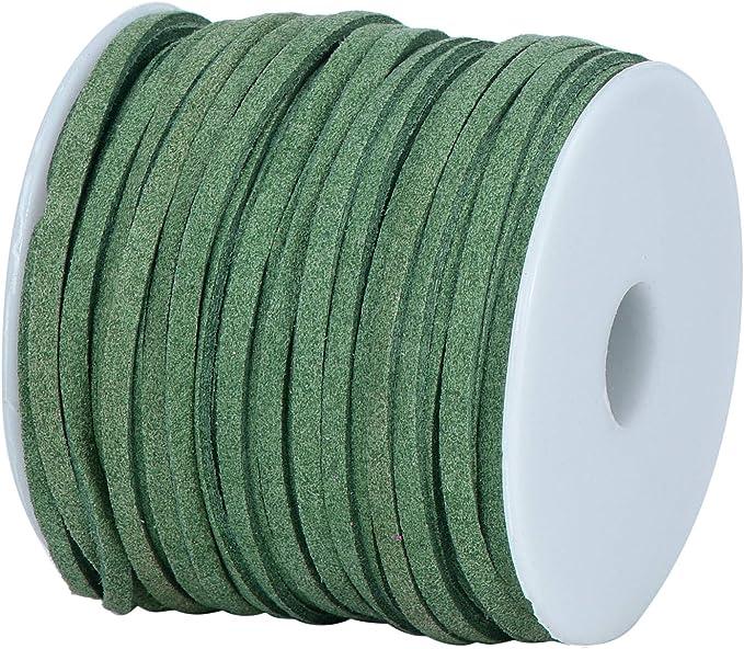 153 opinioni per DonDon Cordino Velours Velluto 3 mm fai da te rotolo da 30 metri- verde
