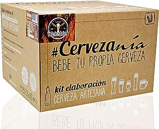 comprar comparacion #Cervezanía - Kit de elaboración de cerveza Weissbier trigo. Elabora 5 litros de cerveza de trigo en casa, estilo alemán