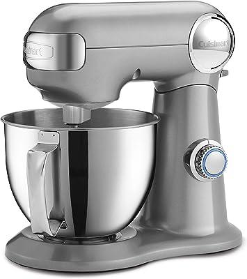 Cuisinart SM-35BC Precision Master 3.5 Quart (Silver Lining) Stand Mixer