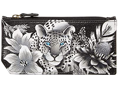 Anuschka Handbags RFID Blocking Card Case With Coin Pouch 1140 (Cleopatra