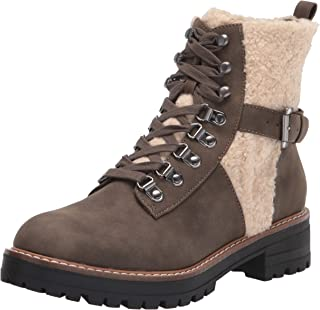 Report Women's Bootie, Combat Ankle Boot, Olive, 7 M US