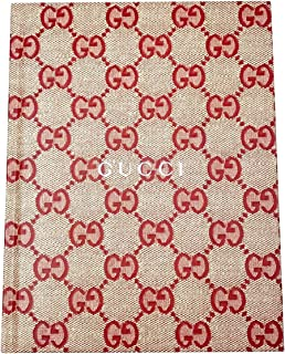 Gucci Women's Baila Special Appendix 2018 Beige / Red Notebook