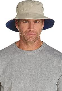 Coolibar UPF 50+ Men's Women's Landon Reversible Bucket Hat - Sun Protective