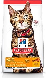 Hill's Science Diet, Alimento para Gato Adulto Receta Original Light, Seco (bulto) 7.3kg