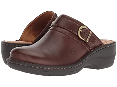 Born Avoca (Chocolate Full Grain Leather) Women