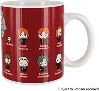 Paladone Harry Potter Complete Cast Coffee Mug - Glossary of All The Most Famous Characters