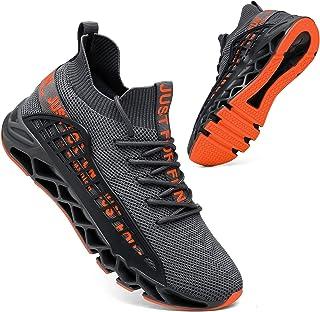 Sponsored Ad - FZUU Mens Athletic Running Walking Shoes Non Slip Fashion Sneakers