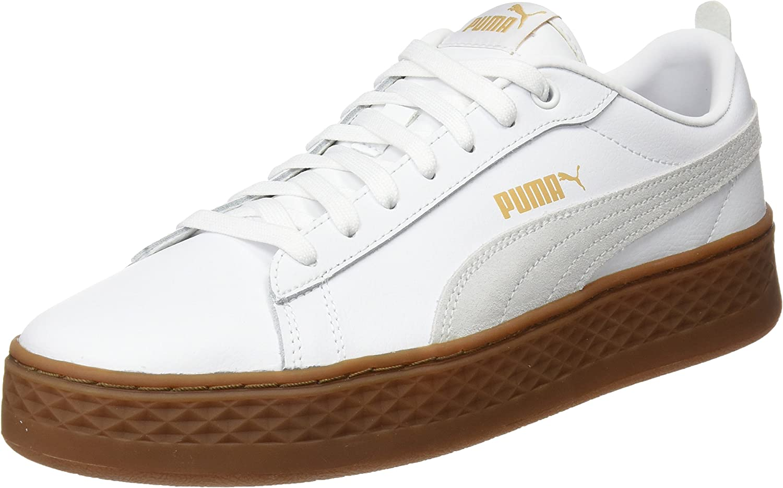 PUMA Women's Smash Platform L Low-Top Sneakers