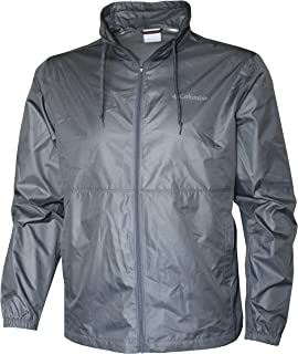 Columbia Men's Baldtop EXS Full Zip Omni Heat Shell Windbreaker Jacket