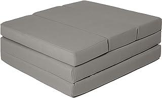 comprar comparacion ZOLLNER Colchón Plegable para Invitados, 65x220 cm, Gris