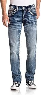 Mens Scotty A202 Alternative Straight Jeans Rock Revival