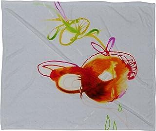 Deny Designs Marta Spendowska Nature Creatures 3 Fleece Throw Blanket, 50 x 60