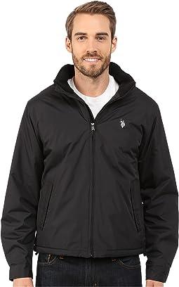 Mock Neck Jacket Polar Fleece Lined