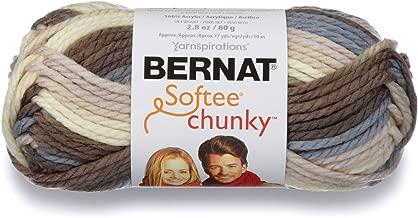 Bernat Softee Chunky Ombre Yarn, 2.8 oz, Nature's Way, 1 Ball