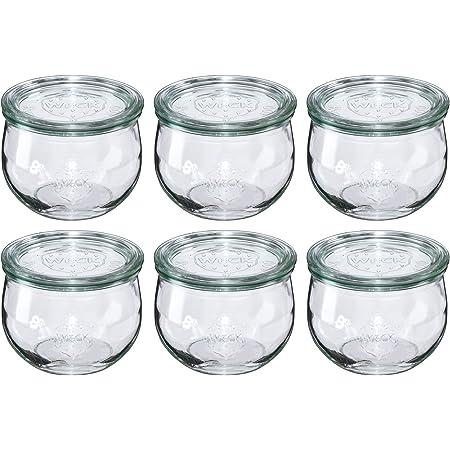9 Weck verres 1062 ML tulpenglas 1 L sturzglas conditionné KALGOORLIE Einkochglas