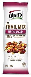 Oberto Trail Mix w/ Teriyaki Chicken, 4 Oz Bag