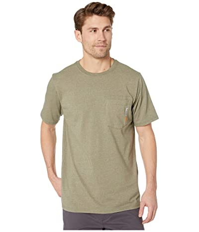 Timberland PRO Base Plate Blended Short Sleeve T-Shirt (Burnt Olive Heather) Men