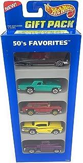 1995 Hot Wheels '59 Caddy, '57 T-bird, Chevy Nomad, '57 Chevy, '56 Flashsider