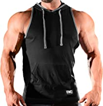 Monsta Clothing Co. Men's Workout (Monsta Gym Wear Classic) Gym Hooded Tank Top
