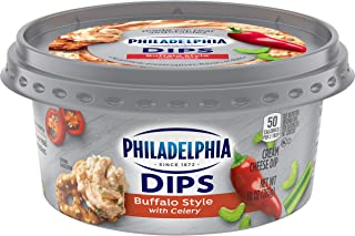 Philadelphia Dips Buffalo Style with Celery Cream Cheese (10 oz Tub)