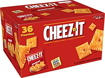 36-Pack Kellogg's Cheez-It Baked Snack Crackers