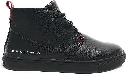 Guess , Chaussures de de Ville à Lacets pour Homme Noir Noir  grandes marques vendent pas cher