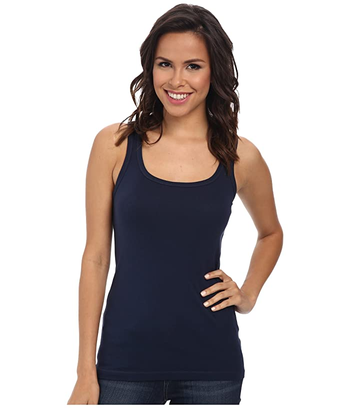 Splendid  1x1 Classic Tank Top (Navy) Womens Sleeveless