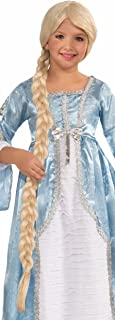 Forum Princess Of The Tower Child Wig, Blonde