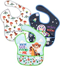 Bumkins Disney SuperBib, Baby Bib, Waterproof, Washable, Stain & Odor Resistant, 6-24..