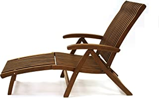 teak wood recliner
