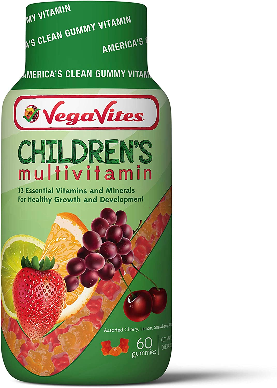 VegaVites Year-end gift Gummy Children's Multivitamin – 20 V C Popular standard mg Vitamin of