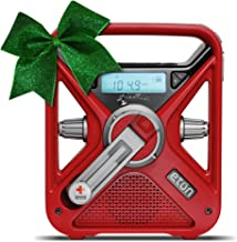 American Red Cross Emergency NOAA Weather Radio with USB Smartphone Charger, LED Flashlight & Red Beacon