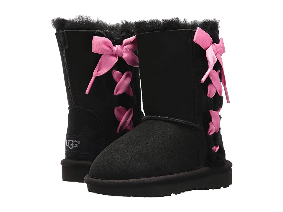 UGG Kids Pala (Toddler/Little Kid) (Black) Girls Shoes