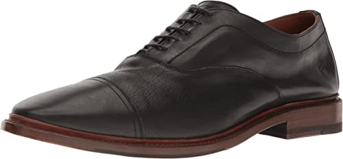 FRYE Men's Paul BAL Oxford, schwarz, 10 M