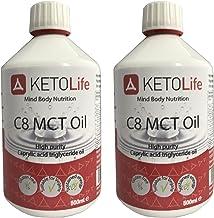 C8 MCT Oil 500ml X 2