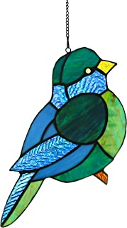 Alivagar Ornament Stained Glass Window Hanging Suncatcher Bird TF1059, 9