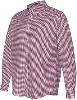 Men's 100s Two-Ply Classic-Fit Gingham Button-Down Shirt